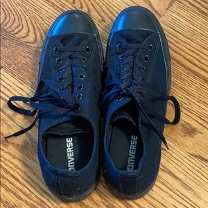 Black Converse Sneakers Women's 11/Men's 9